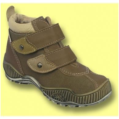 Šilti odiniai batai vaikams